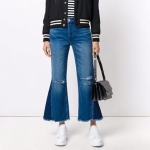 Free People 3X1 W4 Higher Ground Gusset Crop jeans